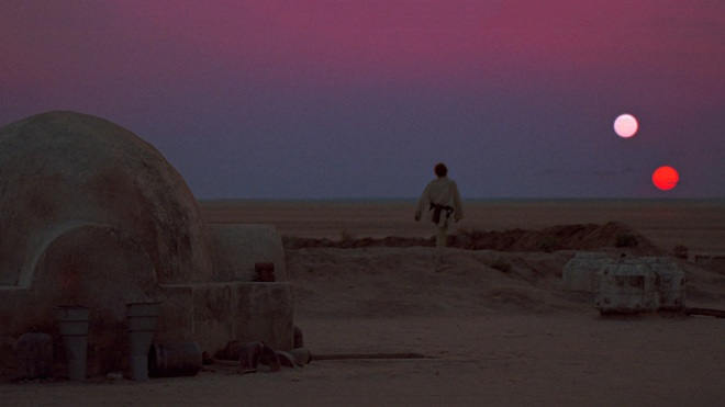Tattooine 2 Suns